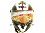 Шлем интеграл Safelead LX-122 черный Q66, размер L