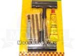 Набор для ремонта БЕСКАМЕРНЫХ ШИН YP811-C (жгуты–5 шт.клей,нож,шило-сверло,зацеп)
