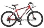 Велосипед 26 STINGER ARAGON (18ск, рама 18,20 сталь,торм.мех.диск.TY500/TY300) красный