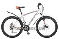 Велосипед 26 STINGER ELEMENT D (18ск,МТВ,рама ал.16,18,20, торм.диск.мехTZ30/TY21/TS38.) серый