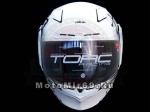 Шлем интеграл прем. ТORC T-19 WHITE ANIME, размер S (прочност/ЛЕГКИЙ) белый с рисунком