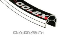 Обод 26х19ммх32Н, A/V, двойной, CSW, X2100, индикатор износа, черный ALEX RIMS