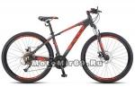 Велосипед 27,5 STELS Navigator-710 MD (рама сталь15,5, торм.мех.диск.) арт.V010 синий, черный