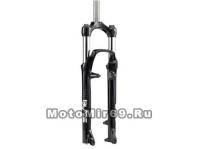 Вилка аморт. 27,5 BLAZE TNL ход -80-100 мм черная, маслянно-пружинная