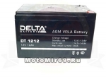 Аккумулятор герметичный 12В 12А/ч, AGM (Delta DT 12-12) (150х100х95) (электро квадрик)
