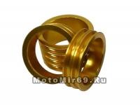 Кольцо проставочное NECO 1-1/8х20мм золотое, шлифованное, алюминий