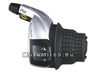 Шифтер Shimano Tourney, RS45-7R, правый, 7 скоростей, трос 2050мм, б/уп.