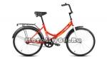 Велосипед 24 FORWARD ALTAIR CITY (складной,1ск,рама 16,ал.обода, багажник, усиленная рама) розовый
