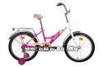 Велосипед 20 FORWARD ALTAIR CITY GIR (1ск, рама сталь, торм.ножной,багаж. поддерж.колеса)
