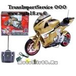 Модель мотоцикла спорт 3655 на РАДИОУПРАВЛЕНИИ, больш., Li-Ion, 800мА, надп.R8, зарядник (уп.18шт)
