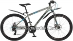 Велосипед 27,5 STINGER GRAPHITE D (рама 16, 18, TY500/TY300/TS38) серый