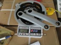 Шатуны 28/38/48Tх170мм, сталь, цвет серый (ETCW-08)