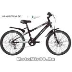 Велосипед 20 NOVATRACK EXTREME (6ск,рама алюм.,торм.обод. (V-Brake)) 117618 черный
