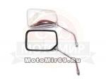 Зеркала (006) d10 квадр. хром крепление в углу СВ400 (кол-во в упак. 50 пар.)