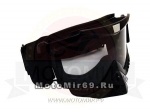 Очки с интегрированной маской-отсекателем МОТО/ATV