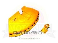 Кожух защитный лески/ножа мотокосы GBC-026/033/043 (крепление-полукруг)