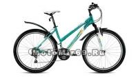 Велосипед 26 FORWARD JADE(SEIDO) 1.0 (18 ск,рама 17 алюм.,Hard tail, торм.V-Brake) зеленый матовый
