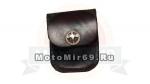 Чехол кожанный на ремень, для зажигалки, крестик байкерский, США