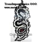 Наклейка Дракон с красными глазами (стиль тату) (GPA 017) 3441