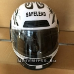 Шлем интеграл Safelead LX-109 NEW белый(Q09), красный(Q09), синий (Q24), черный (Q27) размер L
