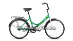 Велосипед 24 FORWARD ALTAIR CITY (складной,1ск,рама 16,ал.обода, багажник, усиленная рама) зеленый