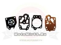 Ремкомплект карбюратора мотокосы BC/GBC-043/052 мембрана