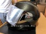 Шлем модуляр (поднимается подбородок) Safelead LX-118 NEW карбон (Y03), белый размер XL