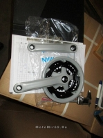 Шатуны 24/34/42Tх170мм, сталь в пластике, цвет серый (ETCW-03)