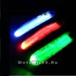 Браслет светодиодный (ПЕШЕХОД/ВЕЛО/МОТО/ДЕТИ/АВТО, бвстрая застежка, цвета ассорт.) - визуа. защита