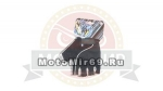 Перчатки вело кож.зам, вставки (размер L) S-913