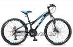 Велосипед 24 STELS Navigator-460 MD(21ск, рама ал.11, дв.обода, мех,диск.торм.)