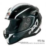 Шлем интеграл SHIRO SH-881 MOTEGI, размер L, (1уп =6 шт) (черно-белый)
