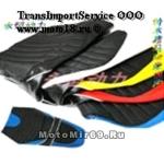Чехол-обтяжка для сидений скутеров, мопедов универсальный, 2х цветный
