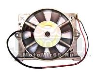 Вентилятор МБ-10Д генератор в сборе со шкивом