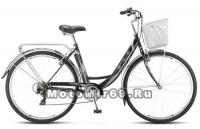 Велосипед 28 STELS Navigator-395 (7ск,рама сталь 20,алюм.обода,торм.V-br,багаж, звонок,корзина)