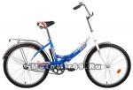 Велосипед 24 FORWARD VALENCIA (скл, 1ск,рама16,18,нож.зад. тормоз, багажник) красный,синий,желтый
