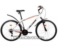 Велосипед 26 FORWARD ALTAIR MTB HT 1.0 (горный ,18ск, рама 17сталь,пласт. крылья, вилка ход 30мм.)