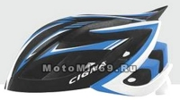 Шлем вело CIGNA WT-111, размер M/L (57-62 cm) (черно-бело-синий)