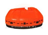 Кожух защитный лески/ножа мотокосы GBC-052 (крепление-полукруг) с 300518 нет крепежа