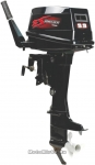 Мотор лодочный ZONGSHEN Т9,9ВМS 9,9 л.с., руч. старт, румпель + набор-тюнинг до 15 л.с.