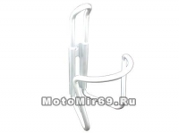 Флягодержатель алюминий,цвет в ассортименте, дуги D:6мм, вес 60г,