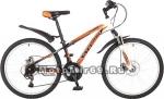 Велосипед 24 STINGER CAIMAN D (18 ск, рама 14, торм.мех.диск,TZ30/TY21/RS35) оранжевый