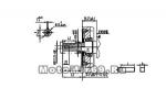 Двигатель LIFAN 15 л.с. 190F-D (ЭЛ.СТАРТЕР вал 25 мм., с катушкой освещения 12В 7А 84Вт Лидер