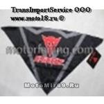 Платок мото/скутер ГРАФИКА (треугольный, сзади на липучке, защита дыхания, Чертик/DAINESE SA0002