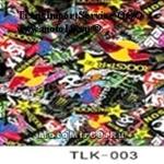 Пленка виниловая для кузова (1,5x30 м, декор, TLK-003) Черепа в стиле MФNSTER, цена за 1м (х1,5м)