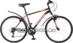 Велосипед 26 STINGER CAIMAN (18 ск, рама 18 сталь,торм.V-Brake,TZ30/TY21/RS35) черный