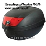 КОФР (премиум) мотоциклетный 60л матовый ZH-L0807 (уп.2 шт.) (на 2 шлема)