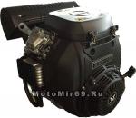 Двигатель ZONGSHEN 25 л.с. c катушкой освещения 20А12В180Вт GB680, РУЧ+ЭЛ СТАРТ (БУРАН) (1T7EQX680))