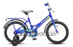 Велосипед 16 STELS TALISMAN (1ск.,рама 11,задн.ножной торм,звонок,доп.колеса) синий