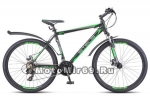 Велосипед 26 STELS Navigator-620 МD (21ск,рама 14,17,19,ам.вилка,дв. AL об,) черн.зелен.антрацит